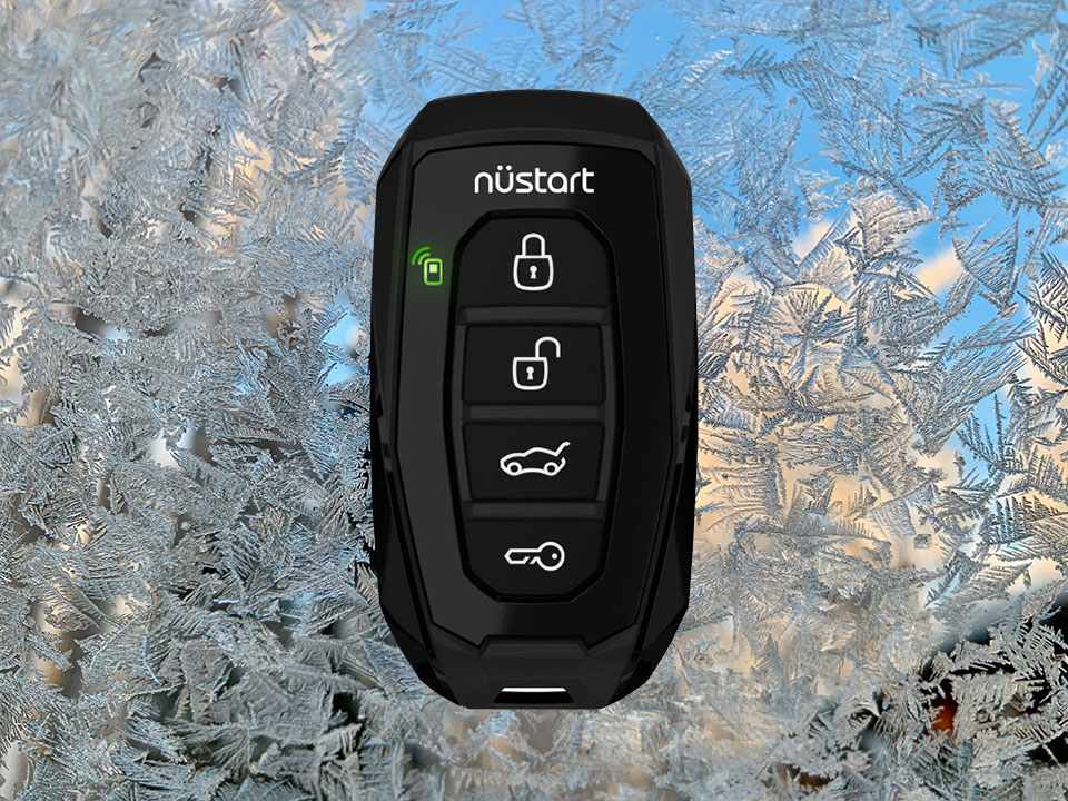 Frosty mornings are Better with Interior Remote Start